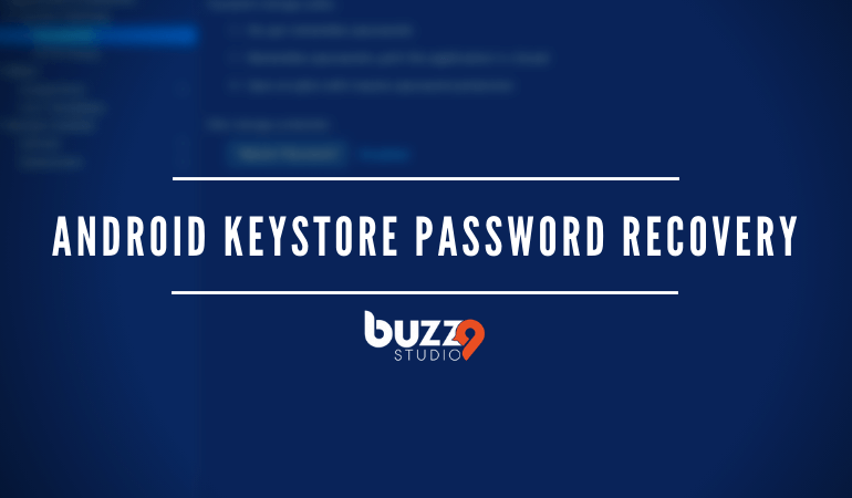 Android Keystore Password Recovery
