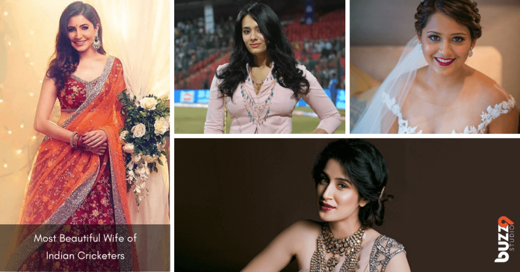 Most Beautiful Wife - Wives of Indian Cricketers