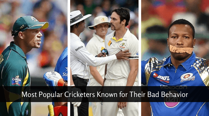 Most Popular Cricketers Known for Their Bad Behavior
