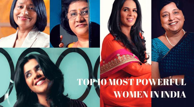 Top 10 Most Powerful Women in India