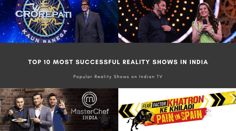 Top 10 Most Successful Reality Shows in India