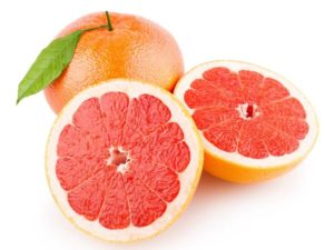 Grapefruit- red or pink