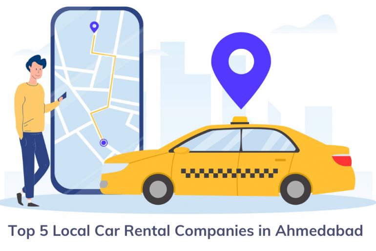 Top 5 Local Car Rental Companies in Ahmedabad