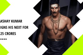 Akshay Kumar signs Three new films in 125 Crores